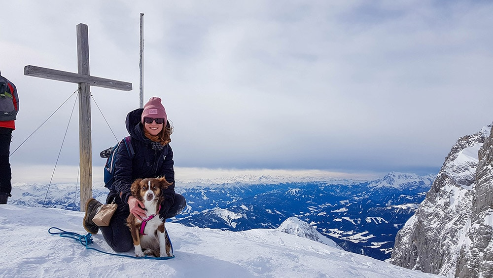 Ausblick an der Seethalerhütte 2.740m Höhe