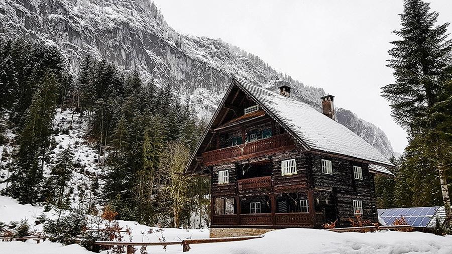 Hütte Gosausee
