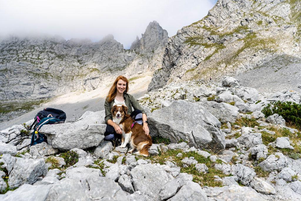 Wandern mit Hund zur Gruttenhütte
