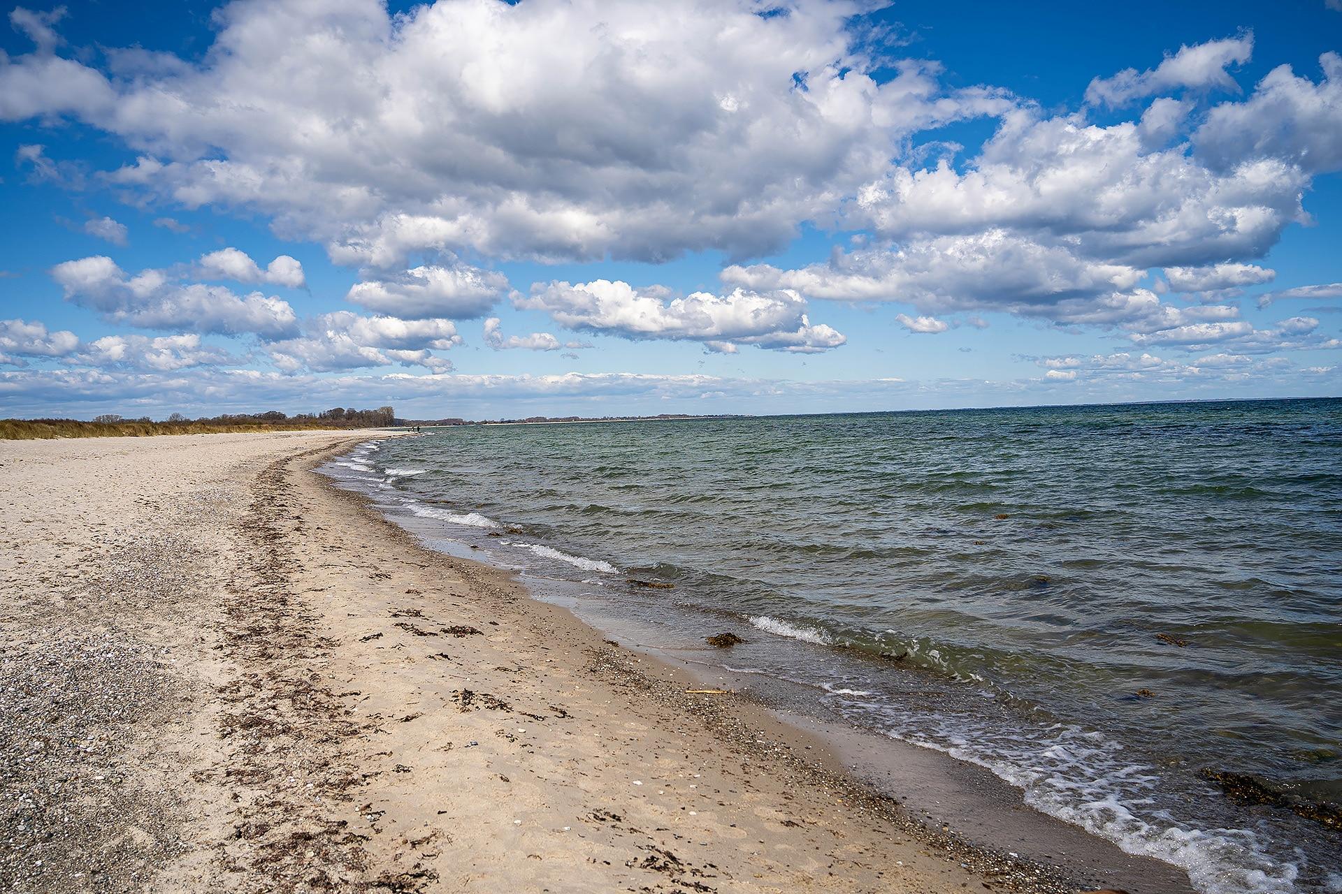 Die Ostsee in der Nähe von Maasholm