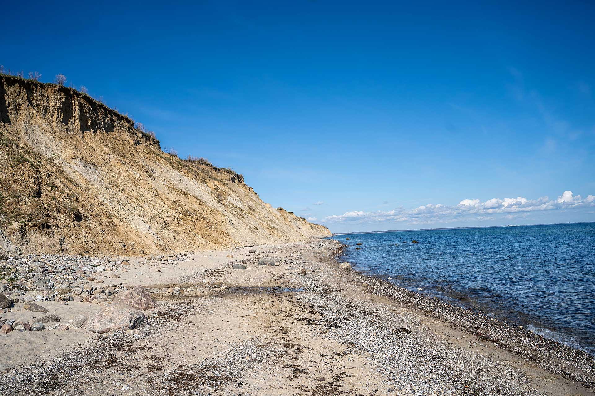 Die Steilküste von Stohl
